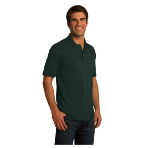 Adult Jersey Knit Polo Thumbnail