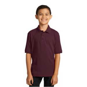 Youth Jersey Knit Polo  Thumbnail