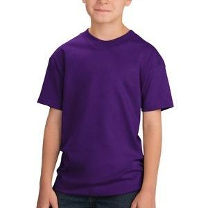 Youth 100% Cotton T Shirt, Short Sleeve Thumbnail