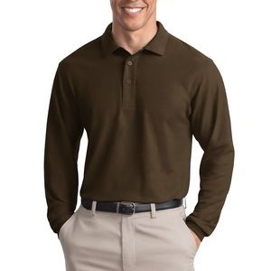ADULT Long Sleeve Silk Touch™ Polo Thumbnail