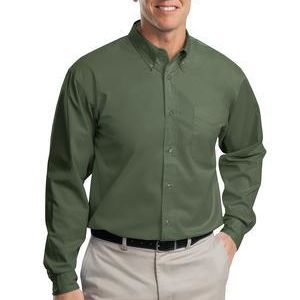 Undecorated  Long Sleeve Easy Care Shirt Thumbnail