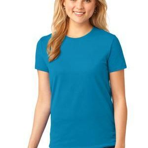 *SPFS*  Ladies 5.4 oz 100% Cotton T Shirt Thumbnail