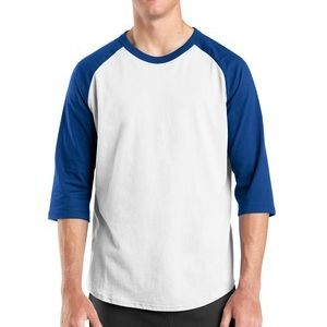 Flagler Athletics Colorblock Raglan Jersey Thumbnail
