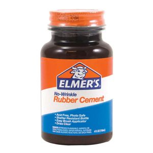 Elmers Rubber Cement, 4 Oz. Thumbnail
