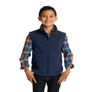 Youth Fleece Vest Thumbnail