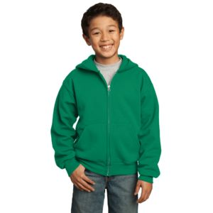 Youth Full-Zip Hooded Sweatshirt Thumbnail
