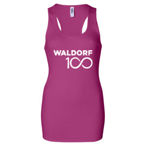 AWSNA - Ladies' 2×1 Rib Racerback Longer Length Tank Thumbnail